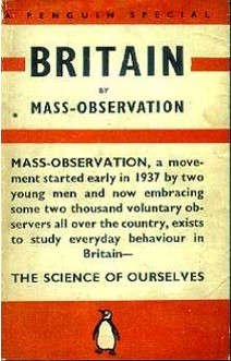 Front cover of the Penguin 'Mass-Observation' book