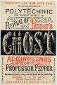 flyer for Pepper's Ghost