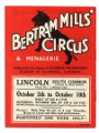 Bertram and Mills Circus Poster