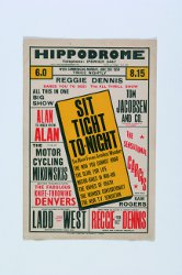 Poster from the Ipswich Hippodrome