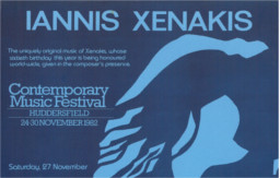 Poster: Iannis Xenakis - Contemporary Music 