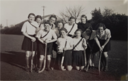 Student hockey team at City of Portsmouth Training College, early 1940s. Copyright the University of Portsmouth