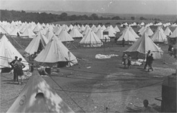 Camp at North Stoneham, copyright the Hartley Library, University of Southampton