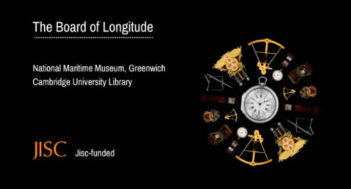 link to Board of Longitude video