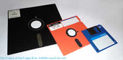 picture of floppy disks