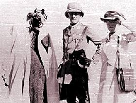 Gertrude Bell in Iraq, 1916 [image © copyright Newcastle University Library]